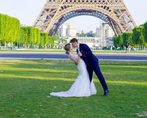 After-wedding Parijs